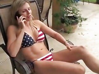 Wife Fucks Poolboy With Husband On The Phone Free Porn F6