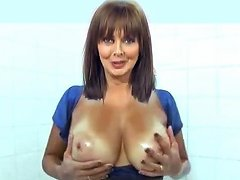 Carol Oils Her Knockers Free Milf Porn Video 0b Xhamster