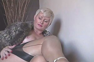 Sexy Saucy Sally Milf In Stockings Free Porn F3 Xhamster