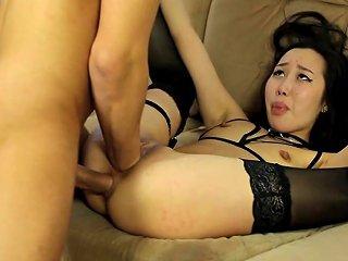 Fisting Asian Girl