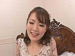 Japanese Doll Fucked Missionary Style In Wet Bed