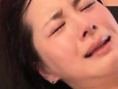 Bukkake Addict Japanese Little Hoe Hammered Hard In Her Slit