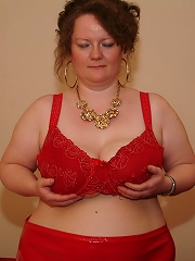 Big titted german housewife playing with herself