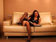 Merilyn Sakova-  In Latex - By Tlh