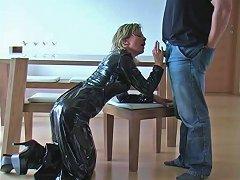 German Fantastci Latex Skirt Hand And Blowjob Free Porn 9b