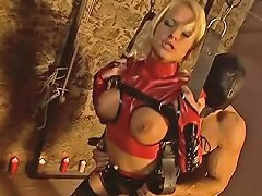 Fucking In Leather Swing A Great Blond Porn Bd Xhamster