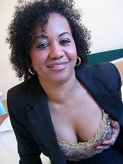 This is Ana Silvia, a hot fucking ebony mature nympho