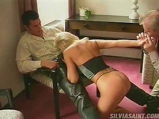 Slutty Blonde  Gets Her  Fucked