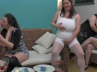 Old And Young Lesbian Birthday Party Hd Porn 3b Xhamster