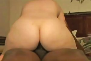 Horny Amateur Wife Have Interracial Sex With Two Big Black