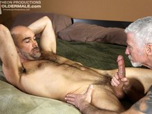 Hot, hung and ready for action, Nick Forte is happy to start sucking on Paul Barbaro's nice hard cock. Paul can't wait to lick and fuck Nick